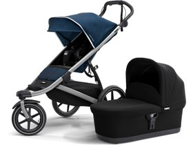 Детская коляска с люлькой Thule Urban Glide 2 (Majolica Blue) 280x210 - Фото