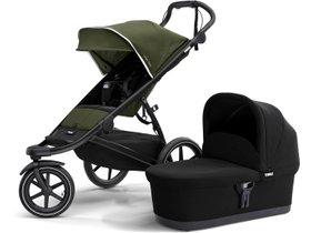Детская коляска с люлькой Thule Urban Glide 2 (Cypress Green) 280x210 - Фото