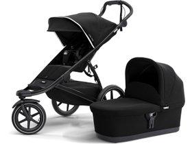 Детская коляска с люлькой Thule Urban Glide 2 (Black on Black) 280x210 - Фото