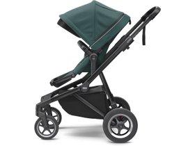 Детская коляска с люлькой Thule Sleek (Mallard Green on Black) 280x210 - Фото 3