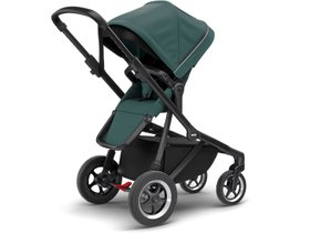 Детская коляска с люлькой Thule Sleek (Mallard Green on Black) 280x210 - Фото 4