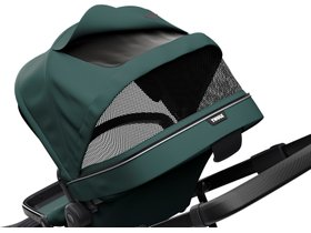 Детская коляска с люлькой Thule Sleek (Mallard Green on Black) 280x210 - Фото 6