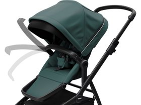 Детская коляска с люлькой Thule Sleek (Mallard Green on Black) 280x210 - Фото 8