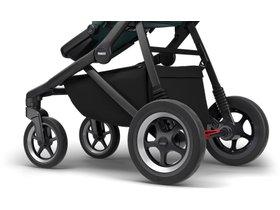 Детская коляска с люлькой Thule Sleek (Mallard Green on Black) 280x210 - Фото 9