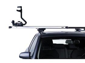 Багажник на гладкую крышу Thule Slidebar для GMC Sierra (mkV)(crew & double cab) 2019→ 280x210 - Фото 3