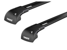 Багажник на интегрированные рейлинги Thule Wingbar Edge Black для Mini Clubman (mkII)(F54) 2015→
