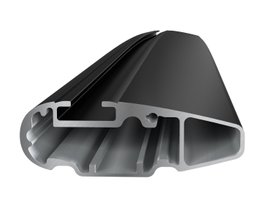 Багажник на интегрированные рейлинги Thule Wingbar Edge Black для Honda HR-V (mkII) 2015→ 280x210 - Фото 4