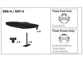 Переходник Thule T-Track Adapter 6974 280x210 - Фото 2