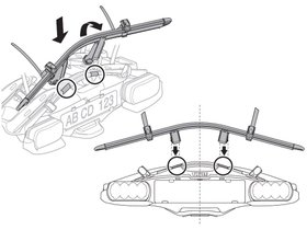 Адаптер для 4-го велосипеда Thule VeloCompact Bike Adapter 9261 280x210 - Фото 2