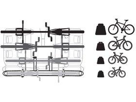 Адаптер для 4-го велосипеда Thule VeloCompact Bike Adapter 9261 280x210 - Фото 3