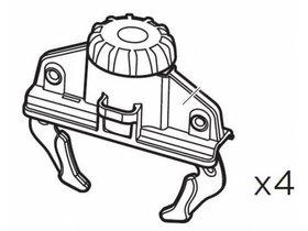 Система фиксации Thule FastClick (4 шт) 10746 (Touring)