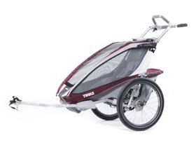 Детская коляска Thule Chariot CX 1 (Burgundy) 280x210 - Фото