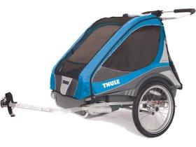 Детская коляска Thule Chariot Captain 2 (Blue)
