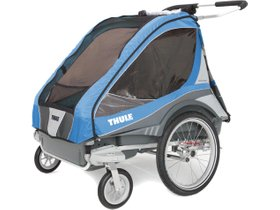 Детская коляска Thule Chariot Captain 2 (Blue) 280x210 - Фото 2