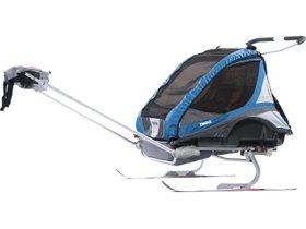 Детская коляска Thule Chariot Captain 2 (Blue) 280x210 - Фото 8