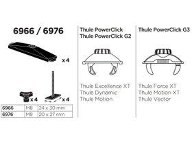Переходник Thule T-Track Adapter 6966 280x210 - Фото 2