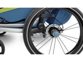 Детская коляска Thule Chariot Sport 1 (Chartreuse-Mykonos) 280x210 - Фото 11