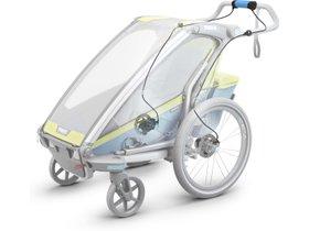 Детская коляска Thule Chariot Sport 1 (Chartreuse-Mykonos) 280x210 - Фото 15