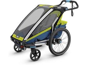 Детская коляска Thule Chariot Sport 1 (Chartreuse-Mykonos) 280x210 - Фото 3