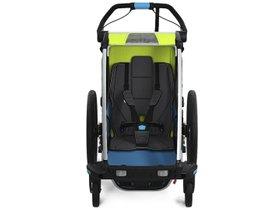 Детская коляска Thule Chariot Sport 1 (Chartreuse-Mykonos) 280x210 - Фото 4