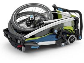 Детская коляска Thule Chariot Sport 1 (Chartreuse-Mykonos) 280x210 - Фото 5