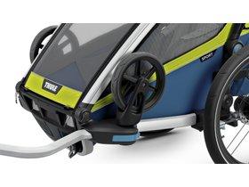 Детская коляска Thule Chariot Sport 1 (Chartreuse-Mykonos) 280x210 - Фото 6