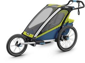 Детская коляска Thule Chariot Sport 1 (Chartreuse-Mykonos) 280x210 - Фото 8