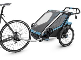 Детская коляска Thule Chariot Sport 2 (Blue-Black) 280x210 - Фото 2