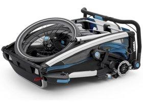Детская коляска Thule Chariot Sport 2 (Blue-Black) 280x210 - Фото 5