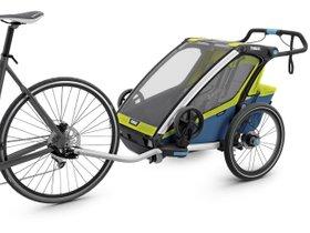Детская коляска Thule Chariot Sport 2 (Chartreuse-Mykonos) 280x210 - Фото 2