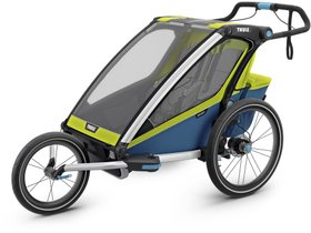 Детская коляска Thule Chariot Sport 2 (Chartreuse-Mykonos) 280x210 - Фото 6