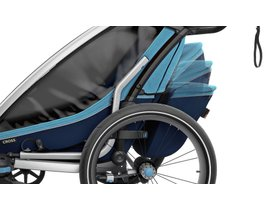 Детская коляска Thule Chariot Cross 1 (Blue-Poseidon) 280x210 - Фото 9