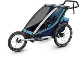 Детская коляска Thule Chariot Cross 1 (Blue-Poseidon) 280x210 - Фото 6