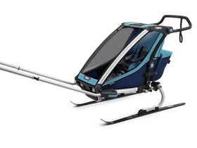 Детская коляска Thule Chariot Cross 1 (Blue-Poseidon) 280x210 - Фото 7