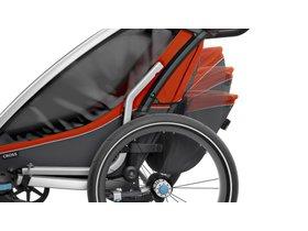 Детская коляска Thule Chariot Cross 1 (Roarange-Dark Shadow) 280x210 - Фото 9