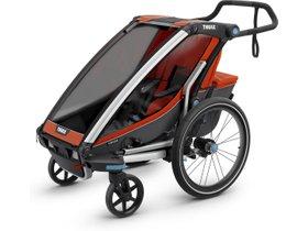 Детская коляска Thule Chariot Cross 1 (Roarange-Dark Shadow) 280x210 - Фото 3