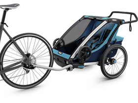 Детская коляска Thule Chariot Cross 2 (Blue-Poseidon) 280x210 - Фото 2