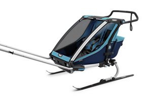 Детская коляска Thule Chariot Cross 2 (Blue-Poseidon) 280x210 - Фото 7