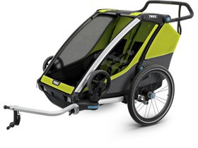 Детская коляска Thule Chariot Cab 2 (Chartreuse)