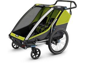 Детская коляска Thule Chariot Cab 2 (Chartreuse) 280x210 - Фото 3