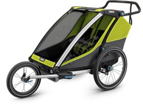 Детская коляска Thule Chariot Cab 2 (Chartreuse) 280x210 - Фото 7