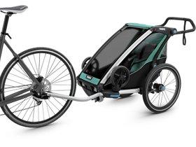Детская коляска Thule Chariot Lite 1 (Blue Grass-Black) 280x210 - Фото 2