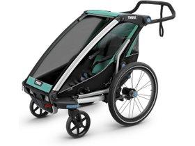 Детская коляска Thule Chariot Lite 1 (Blue Grass-Black) 280x210 - Фото 3