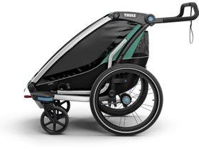 Детская коляска Thule Chariot Lite 1 (Blue Grass-Black) 280x210 - Фото 4