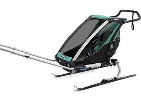 Детская коляска Thule Chariot Lite 1 (Blue Grass-Black) 280x210 - Фото 9