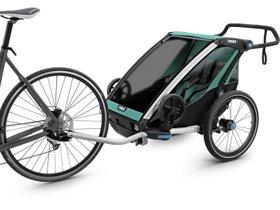 Детская коляска Thule Chariot Lite 2 (Blue Grass-Black) 280x210 - Фото 2