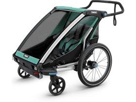 Детская коляска Thule Chariot Lite 2 (Blue Grass-Black) 280x210 - Фото 3