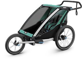 Детская коляска Thule Chariot Lite 2 (Blue Grass-Black) 280x210 - Фото 7