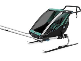 Детская коляска Thule Chariot Lite 2 (Blue Grass-Black) 280x210 - Фото 8
