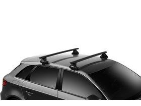 Багажник на гладкую крышу Thule Wingbar Evo Black для Renault Scenic (mkIII) 2009-2015 280x210 - Фото 2